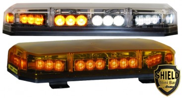 Lightbars archives alaskasafety code 3 shield mini led lightbar aloadofball Image collections